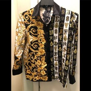Versace Silk shirt and pants. Authentic
